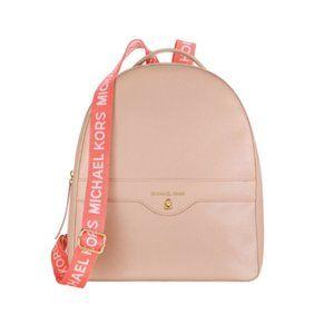 Michael Kors Blush Pink Backpack